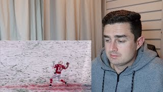 Rugby Fan Reacts to A Snowy Winter Wonderland Football's Perfect Condition