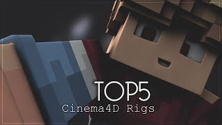 Top Cinema4D Rigs ♦ by Tutorix ♦