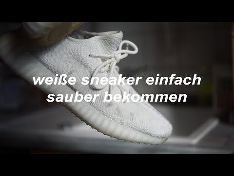 Weiße Sneaker ganz einfach sauber machen | philliper_