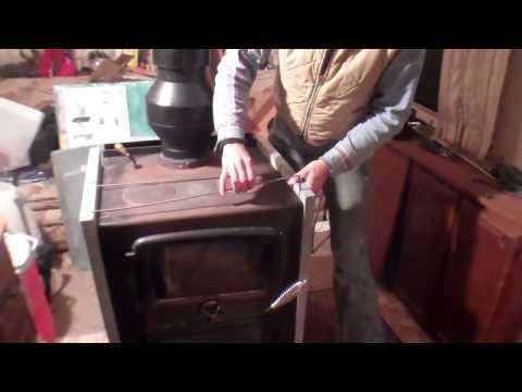 The Baker's Oven/Vermont Bun Baker - Installing Soapstone