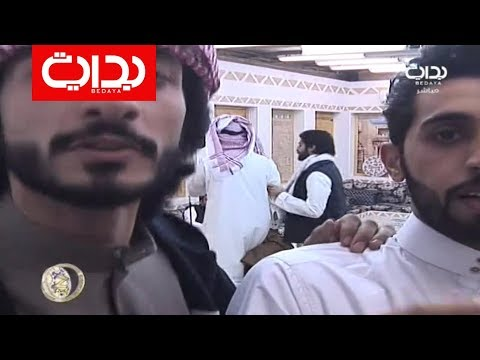 تدشين صلعة محمد آل عمره + فصلته على الكاميرا |  زد_رصيدك65