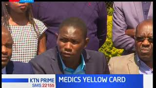 Medics set to down their tools as they demand for their CBA allowances to be actualized