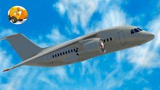 Aviones Para Niños - Aprende Los Números Con Aviones - Aeropuerto