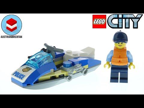 Vidéo LEGO City 30567 : Le jet-ski de police (Polybag)