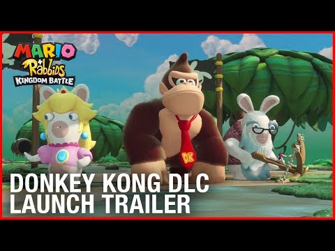 Mario + Rabbids Kingdom Battle: Donkey Kong Adventure DLC | Launch Trailer | Ubisoft [NA] thumbnail