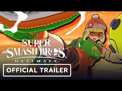 Trailer pour la combattante Min Min de Super Smash Bros. Ultimate