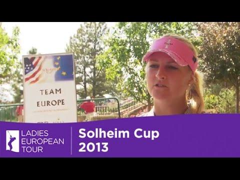 Anna Nordqvist Interview Solheim Cup 2013