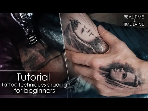 tattoo time lapse and real time by tattoo and drawing