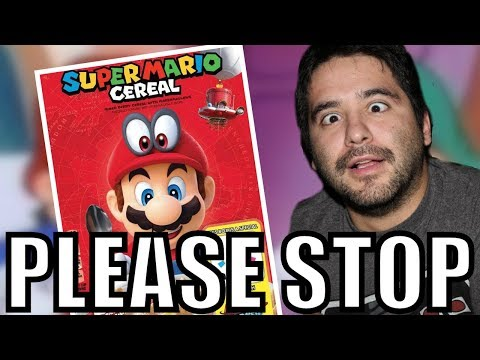 Super Mario Cereal RANT - THIS IS RIDICULOUS   8-Bit Eric