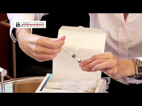 Istruzioni gonal: preparazione e somministrazione del medicinale. Instituto Bernabeu