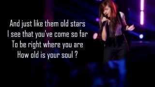 Christina Grimmie - I Won't Give Up (Lyrics) The Voice Season 6