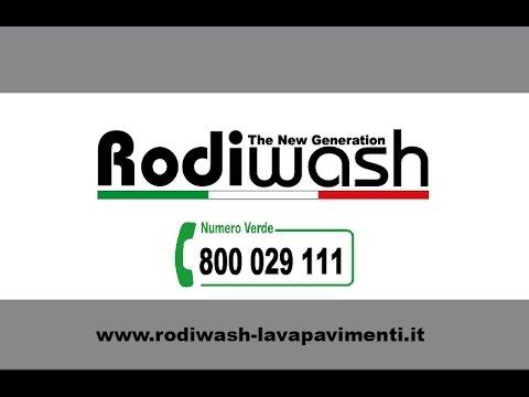 Rodiwash: lavapavimenti, lavamoquette e lavatappeti professionali
