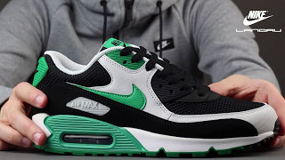 👉 UNBOXING! - NIKE AIR MAX 90 ESSENTIAL BLACK STADIUM GREEN MEN'S SHOES