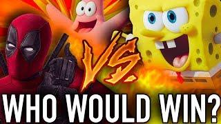 Spongebob VS. Deadpool! Who Would Win?