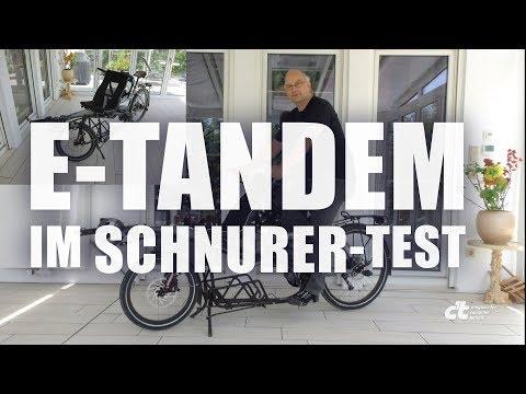 Das Elektro-Tandem Pino Steps im Schnurer-Test