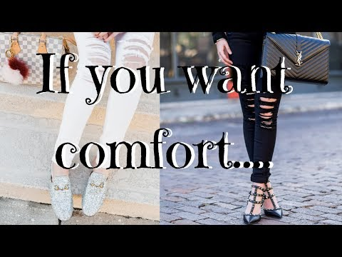 8 most COMFORTABLE designer shoes (Best designer shoes EVER!)