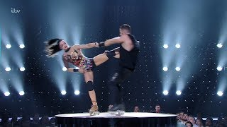Britain's Got Talent The Champions Billy & Emily England 4th Round Audition