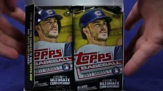 2017 Topps Baseball Series 1 Jumbo Hobby Box Break