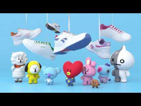 Qoo10 - BT21 Reebok   Shoes f1bae3709