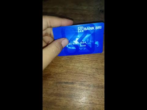 Cara mengetahui nomor rekening BRI dari kartu ATM
