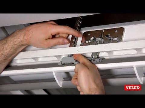Kette deaktivieren und resetten des VELUX INTEGRA® Dachfensters