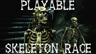 Skyrim Special Edition Playable Skeleton Race Mod (PS4)