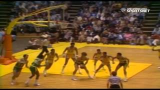 April 20, 1979 Sonics@Lakers (Kareem Adbul-Jabbar 32p 6rb 5as 6blk)