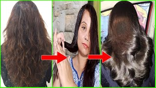 How to make Hair Shiny and Smooth at Home | Dry Hair to Shiny Hair #dryhair #shinyhair #haircare