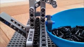 Technic Lego pin out machine