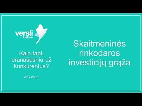 Patikrintos investicinės platformos, skirtos užsidirbti pinigų internete