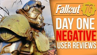 Fallout 76 Day One User Reviews are Extremely Negative