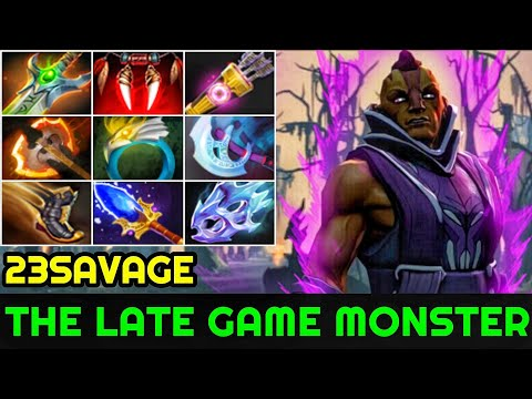 23savage [Anti Mage] The Late Game Monster Full 9 Slot Items 7.23 Dota 2