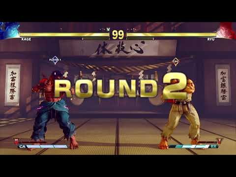 Street Fighter V AE Evil Ryu (Kage) vs Chun Li PC Mod