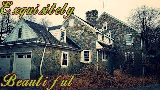 Beautiful Abandoned 1930s Mansion - Inside Is Amazing! Plus Guest House