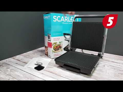 Электрогриль SCARLETT SC-EG350M02