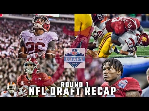 Alabama's dramatic night at the NFL Draft