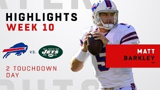 Matt Barkley Leads Huge Win vs. Jets!