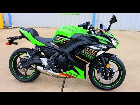 2020 Kawasaki Ninja 650 KRT Edition in La Marque, Texas - Video 1