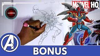 Mech Strike DRAW! | Captain Marvel | Marvel's Avengers: Mech Strike