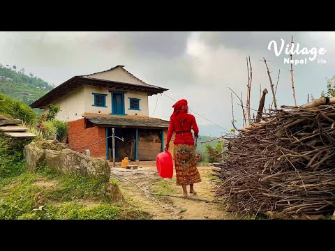 Traditional life of Rural People | Life in Village Nepal | Rural life in Nepal | Nepali Village life