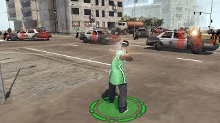 GTA San Andreas as a Real Time Strategy Game - Red Rising MOD