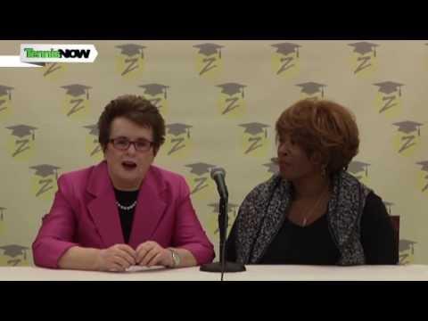 Billie Jean King, Zina Garrison and Friends Talk Tennis & Giving Back