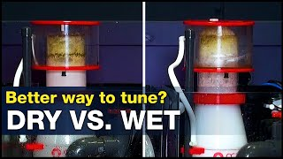 Is this wet or dry? A better way to tune your skimmer…Could the answer be air? | BRStv Investigates