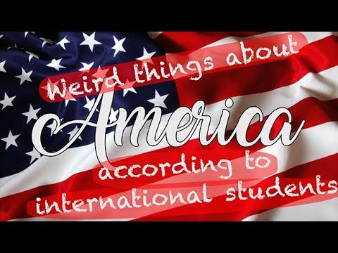 Weird things about America