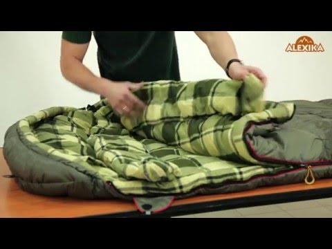 Смотреть видео Спальный мешок Alexika Canada Plus