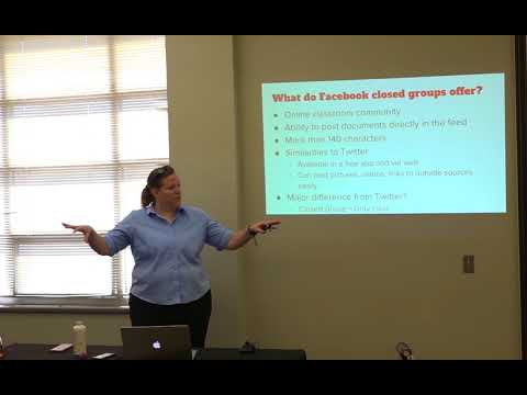 Advance at UNM social media tutorials: Using Facebook Groups in Your Classroom
