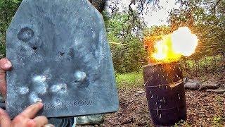 Срикошетит ли бронебойная пуля? | Разрушительное ранчо | Перевод Zёбры