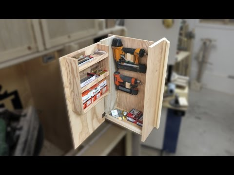 Fold Out Vertical Storage Drawer