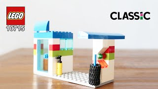 How to build Lego Classic 10715 Gas Station - मुफ्त