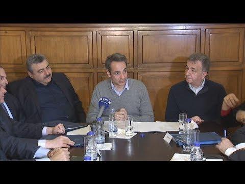Κυρ. Μητσοτάκης: Ο διαγωνισμός για τον Βόρειο Οδικό Άξονα Κρήτης θα προκηρυχθεί το 2021